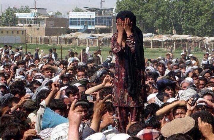 Pazarda Satılan Afgan kız yalanı